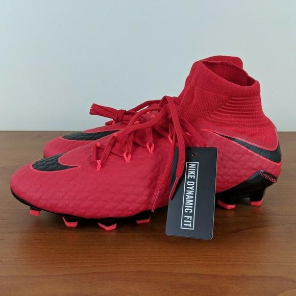 8333f323fbe Nike Hypervenom Phatal 3 DF FG Soccer Cleats Red. M 5c72f06ba31c33de0736764c